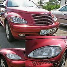 CHRYSLER PT-CRUISER 2001-2006  SCHEINWERFER RAHMEN in CHROM
