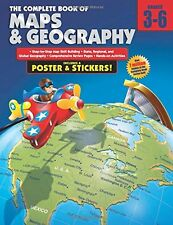 The Complete Book of Maps and Geography, Grades 3 - 6 by , (Paperback), American
