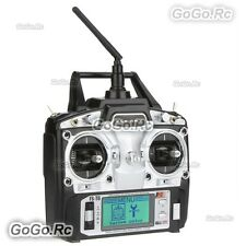 Flysky FS-T6 Radio & Receiver 2.4Ghz 6CH AFHDS for RC Heli Plane Quadcopter