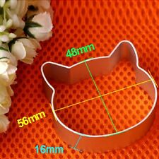 Cat Mould Sugarcraft Biscuit Cookie Fondant Cake Pastry Baking Cutter Tool