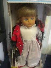 """LISSI  PUPPEN DOLL WORLD WIDE GRETCHEN WEST GERMANY DESIGNED BY BATZ 17""""IN BOX"""