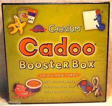 Cranium Cadoo NEW in Package Sealed Booster Box 300 Cards New Mask Clay Pad