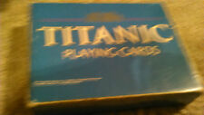 CARTA MUNDI TITANIC PLAYING CARDS 2 DECKS OF CARDS SET ONE DECK IS SEALED