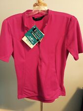 Women's CYCLING SHIRT NWT Performance Bike Shop Size M Pink