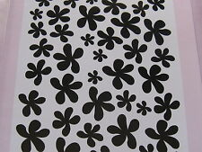 "EMBOSSING FOLDER CRAFT CONCEPTS ""FUNKY FLOWER"" *FREE POST*"