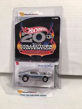 Custom Mustang SILVER * 20th Collectors Convention * Hot Wheels * C4