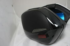 Mutazu Black Hard Pannier Saddlebag For 02-09 Honda VFR800 VRF 800 Interceptor