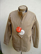 AIGLE Rain Waterproof LINER Zip M Jacket Coat Breathable Windbreak Men Khaki Tan