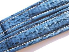 BREITLING BAND 22MM HAI BLAU BLUE SHARK STRAP CORREA FÜR FALTSCHLIESSE I008