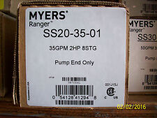 """MYERS 2HP SS20-35 4"""" SUBMERSIBLE PUMP WITH MOTOR AND CONTROL BOX"""