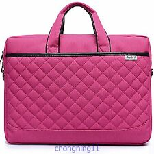 "Laptop Notebook case Bag for 15.6"",inch Computer bag Briefcase hot pink"