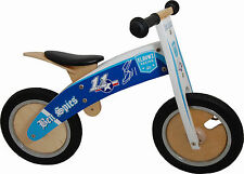Kiddimoto Kurve Ben Spies Elbowz Wooden balance bike no pedals bicycle trainer
