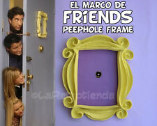 FRIENDS TV SERIE - REPLICA YELLOW FRAME PEEPHOLE MONICA'S DOOR - MARCO MIRILLA