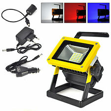 30W Rechargeable 24 LED Flood Light outdoor Camping Fishing USB Spot Work Lamp