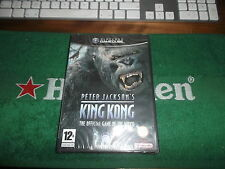 PETER JACKSON'S KING KONG OFFICIAL GAME GAMECUBE NUOVO PAL ITA GIOCHI