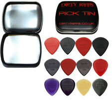 12 Dunlop Jazz Iii 3 Guitar Picks Variedad-en un práctico Pick Tin