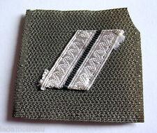 FRANCE: Galon militaire de poitrine grade MARECHAL des LOGIS, en état moyen.