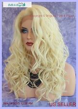 LACE FRONT HAND TIED EAR TO EAR LACE HEAT FRIENDLY COLOR 613 WIG US SELL 214