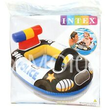 Kids Pool Sit in Floatie Police Car Float Inflatable - For Ages 1+ *New