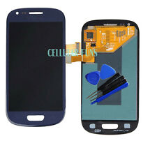 Blue LCD Display Touch Digitizer Replacement For Samsung Galaxy S3 Mini i8190