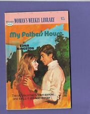 MY FATHER'S HOUSE by EDNA KINGSTON WOMANS WEEKLY LIBRARY no.1484 1977