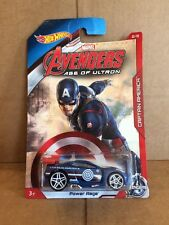 HOT WHEELS DIECAST -Marvel Avengers Age Of Ultron - Captain America - Power Rage