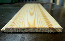 ***SAMPLE*** £1 per metre Tongue & Groove A Grade Timber Cladding Flooring