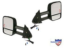 2003 2004 2005 CHEVY GMC TOWING MIRRORS W/ SIGNAL PAIR 2500 HD EXTENDING NEW