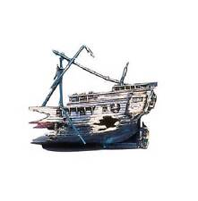 Penn Plax Half A Shipwreck Fish Aquarium Ornament - 056