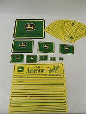 Lot of 63 Miscellaneous John Deere Bumper Sticker / Decals