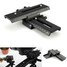 2-way Macro Shot Focusing Focus Rail Slider for Canon Nikon Camera D-SLR K6P2