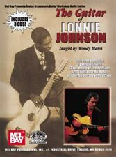 """THE GUITAR OF LONNIE JOHNSON"" BY WOODY MANN-MUSIC BOOK/3 CDS NEW ON SALE RARE!!"