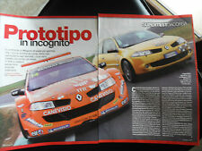 CLIPPING - RENAULT MEGANE R 26 E TROPHY - ANNI 80 - RT