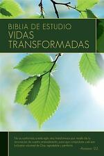 Biblia de Estudio: Vidas Transformadas by Warren W. Wiersbe (2014, Hardcover)