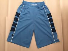 Men's Air Jordan Cat Scratch Basketball Shorts - Carolina Blue White | sz Small