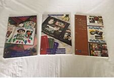 Lot of 3 Creative Memories Scrapbook Page Design & Layout Ideas (O)
