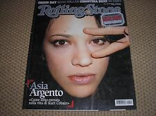 RIVISTA ROLLING STONE #18 ASIA ARGENTO GREEN DAY BODE MILLER 50 CENT CHRIS RICCI
