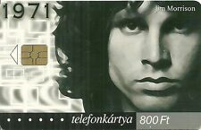 RARE / CARTE TELEPHONIQUE - THE DOORS : JIM MORRISON / PHONECARD TELEPHONE CARD