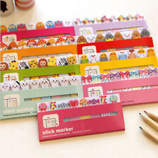 Lovely Animal 120 Sticker Flags Bookmark Page Marker Memo Index Tab Sticky Note