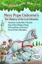 Magic Tree House Boxed Set, Books 13-16: Vacation Under the Volcano, Day of the