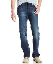 NEW LEE MODERN SERIES 33x32 STRAIGHT LEG & FIT BLUE JEANS TEMP CONTROL $56