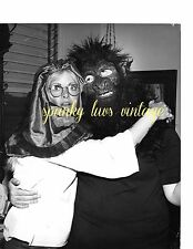 Vtg Celebrity Photo Sally Struthers and Judy Derrick Wearing Costume