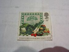 GB 1989 COMMEMORATIVE FOOD AND FARMING YEAR STAMP