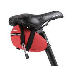 Roswheel Portable Bike Bicycle Saddle Bag Seat Pouch with Reflective tape red