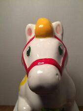 "Wells Fargo Chinese Lunar New Year ""Year of the Horse"" Ceramic Piggy Bank 2014"