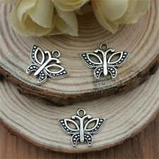 Wholesale 10pcs Tibet silver Ms. motorcycle Charm Pendant beaded Jewelry Findin
