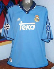 ADIDAS REAL MADRID CHAMPIONS 2000 AWAY RAUL SOCCER FOOT ORIGINAL JERSEY SHIRT