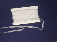 "Closeout Bolt White Mini Puff Pom Trim 1/2"" Wide  36 Yards Free US Shipping."