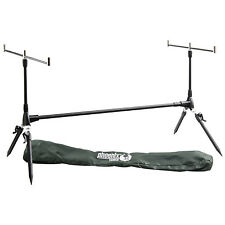 Phoenix Tackle Fully Adjustable Fishing Rod Pod With Accessories In Carry Bag