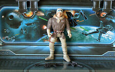 Star Wars Figure 1995 POTF Collection HAN SOLO in Hoth Gear
